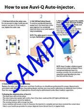 Replacement Auvi-Q™ Instruction Sheet