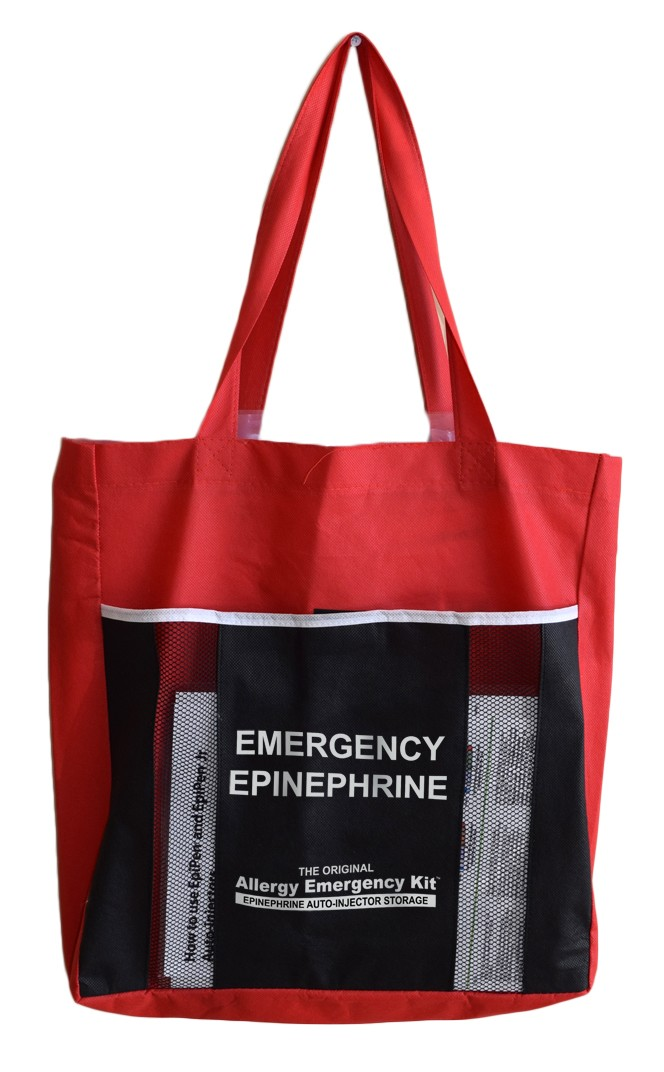 16 Unit Epinephrine Auto-Injector Tote Bag